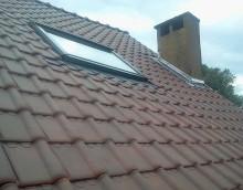 Remplacement de toiture- Tuiles Pottelberg rouges
